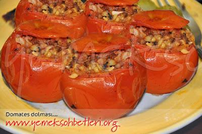yemek yarismasi, gold master yemek yarismasi, domates dolması nasil yapilir