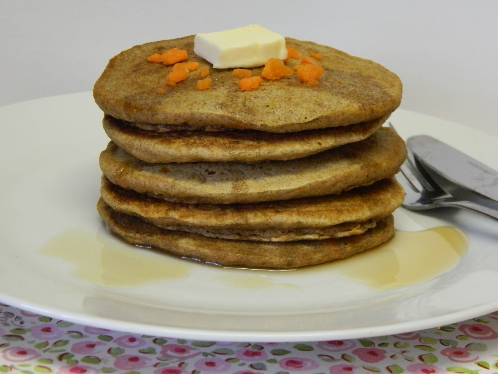 Erica in the City: Whole Wheat Carrot Cake Pancakes