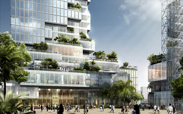 World of architecture skyscrapers maha nakhon by ole for Bangkok architecture