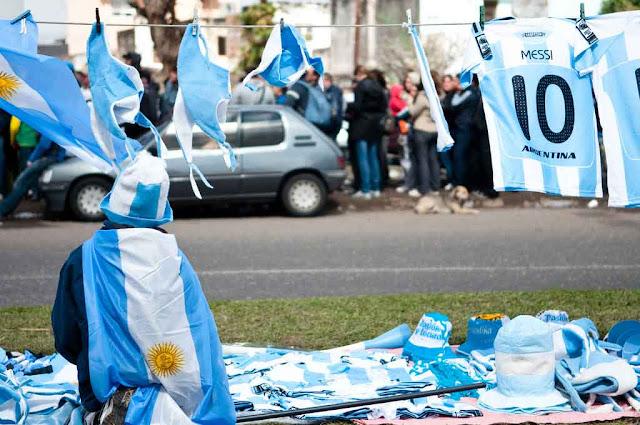 Argentina aguarda el Mundial 2014 en calma