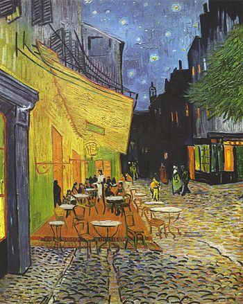 Terraza de café por la noche, (1888)