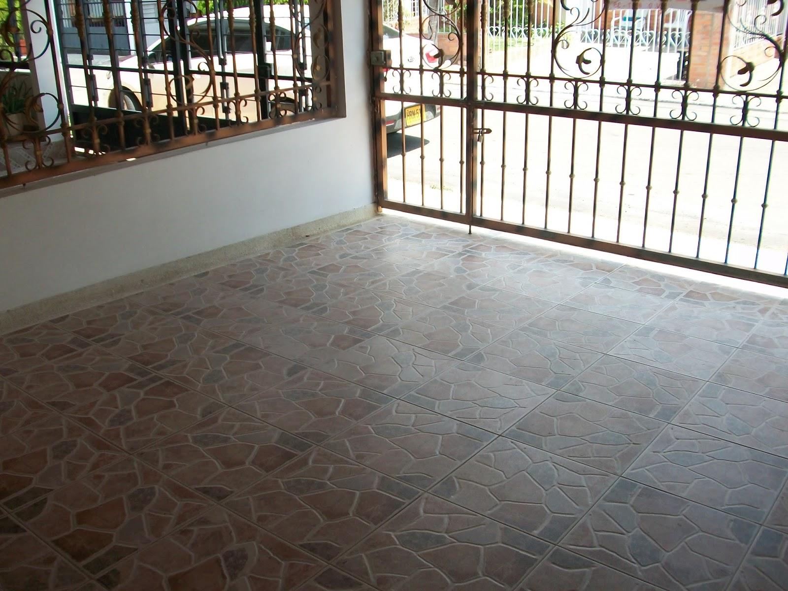 Vendocasaencucuta estacionamiento for Pisos de ceramica para exteriores