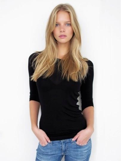 Modelo holandesa é o novo rosto de Maybelline