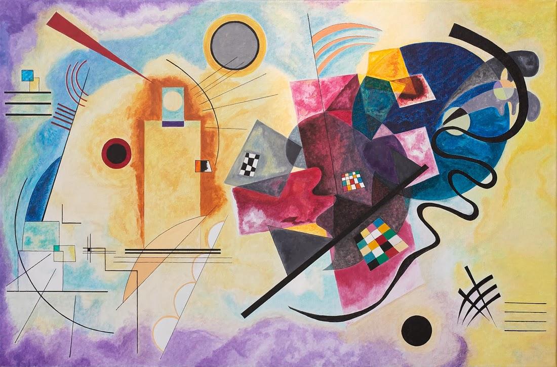 Bien connu Les peintures les plus célèbres de Vassily Kandinsky | Le Blog des  UG56