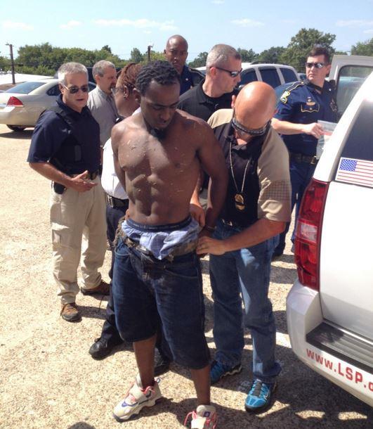 COP KILLER CAUGHT: Louisiana Man Suspected In Slaying Of