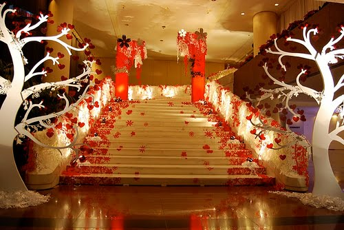 Decoracion de bodas for Asian wedding decoration ideas