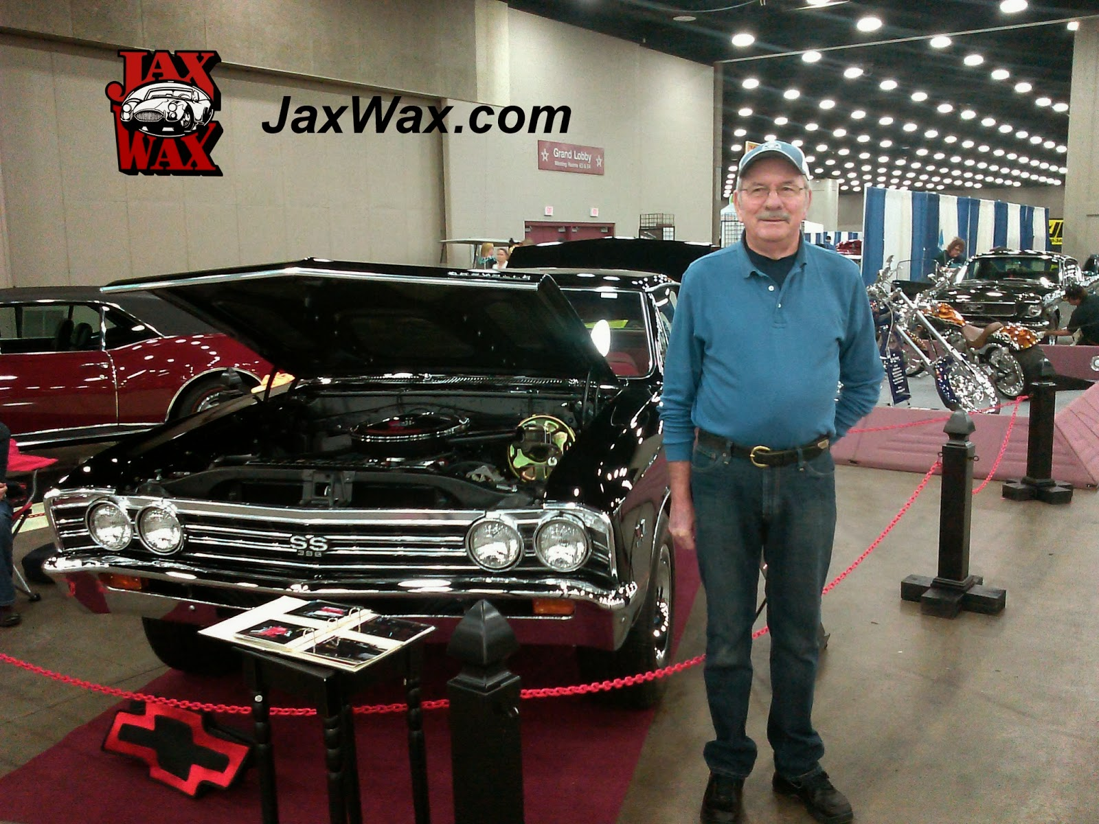 1967 Chevy Chevelle SS Carl Casper Auto Show Jax Wax Customer