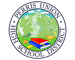 Perris Union High School District logo