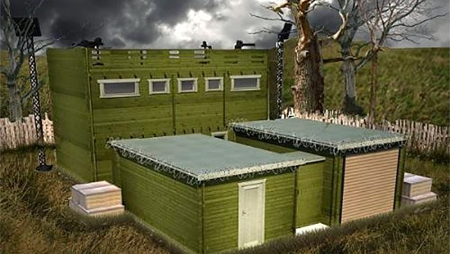 Zombie Proof Cabin ~ Strange days indeed news zombie proof log cabins for sale