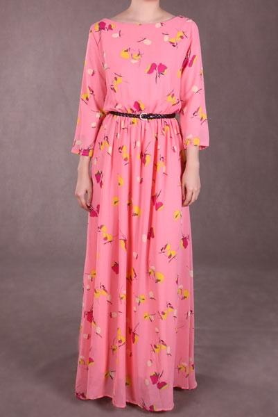 Maxi dress ala poplook