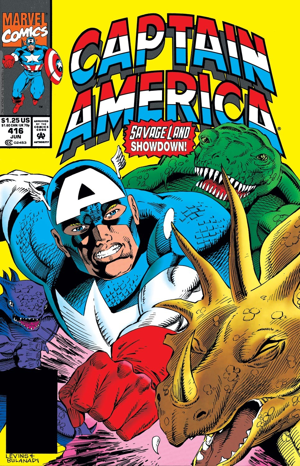Captain America (1968) Issue #416 #365 - English 1