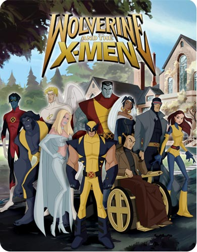 X-men cartoon wallpaper