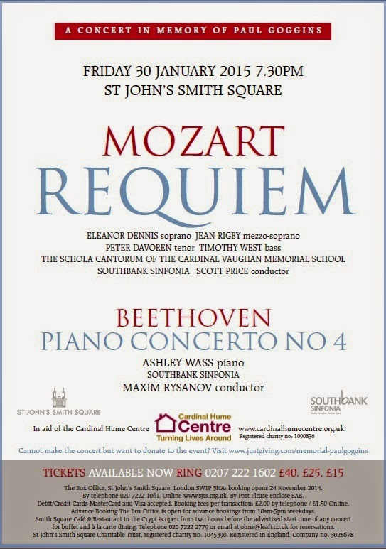 Mozart Requiem - St John's Smith Square