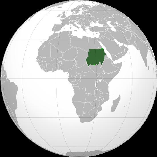 Globo Terráqueo Sudán