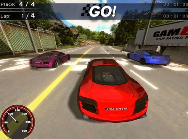 لعبة سباق سيارات سوبر كار