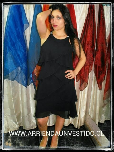 VESTIDO SL FASHION COLLAR PAVILOS CAPAS CREEP