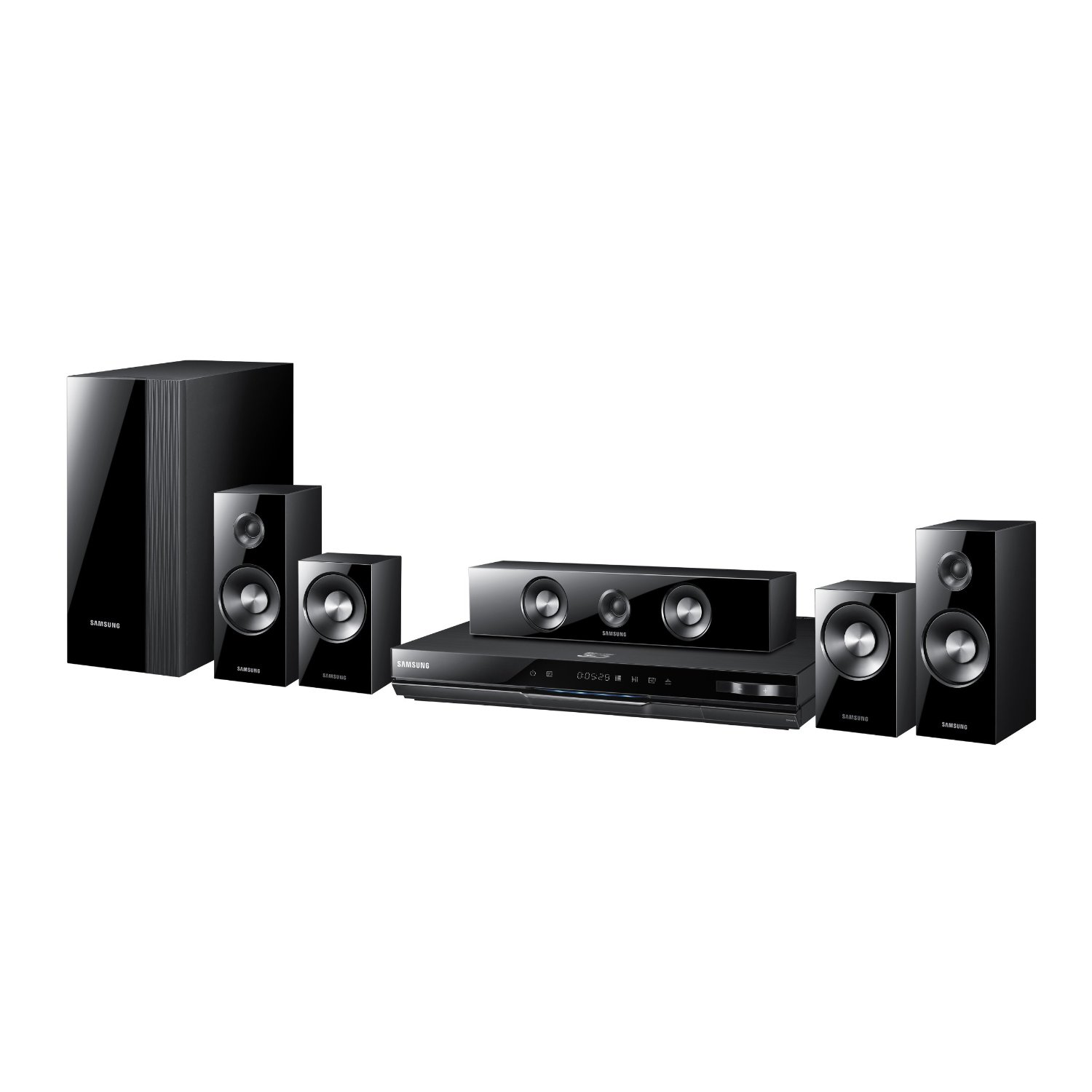 samsung electronics ht d5500 home theater system samsung home theatre. Black Bedroom Furniture Sets. Home Design Ideas