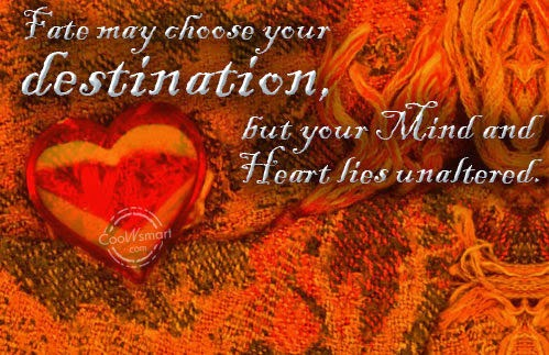 Fate Quotes and Sayings about Kismet