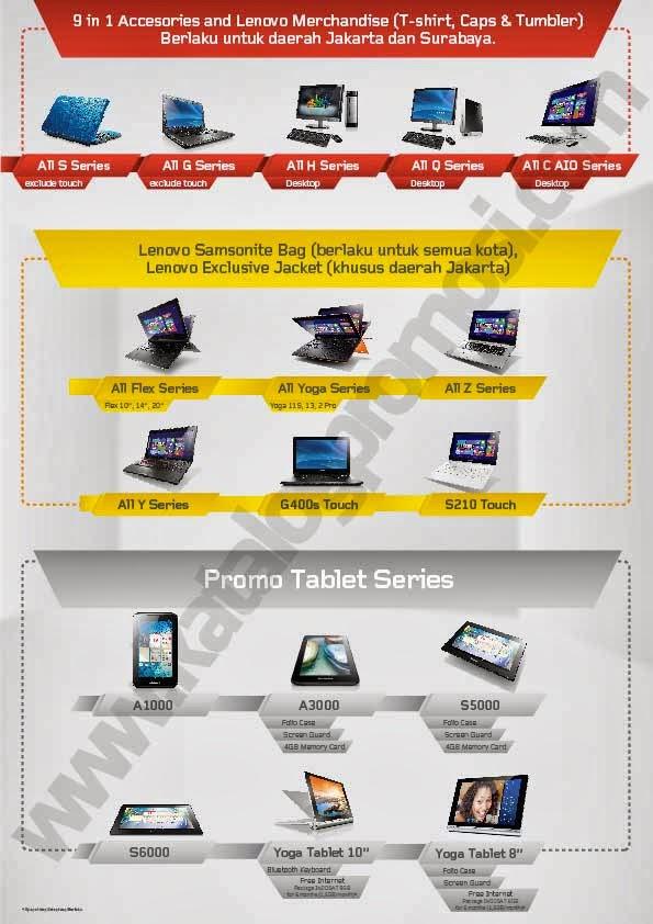 Promo Lenovo di Mega Bazaar Consumer Show 2014
