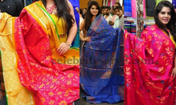 Bridal Saris by Silk India Expo