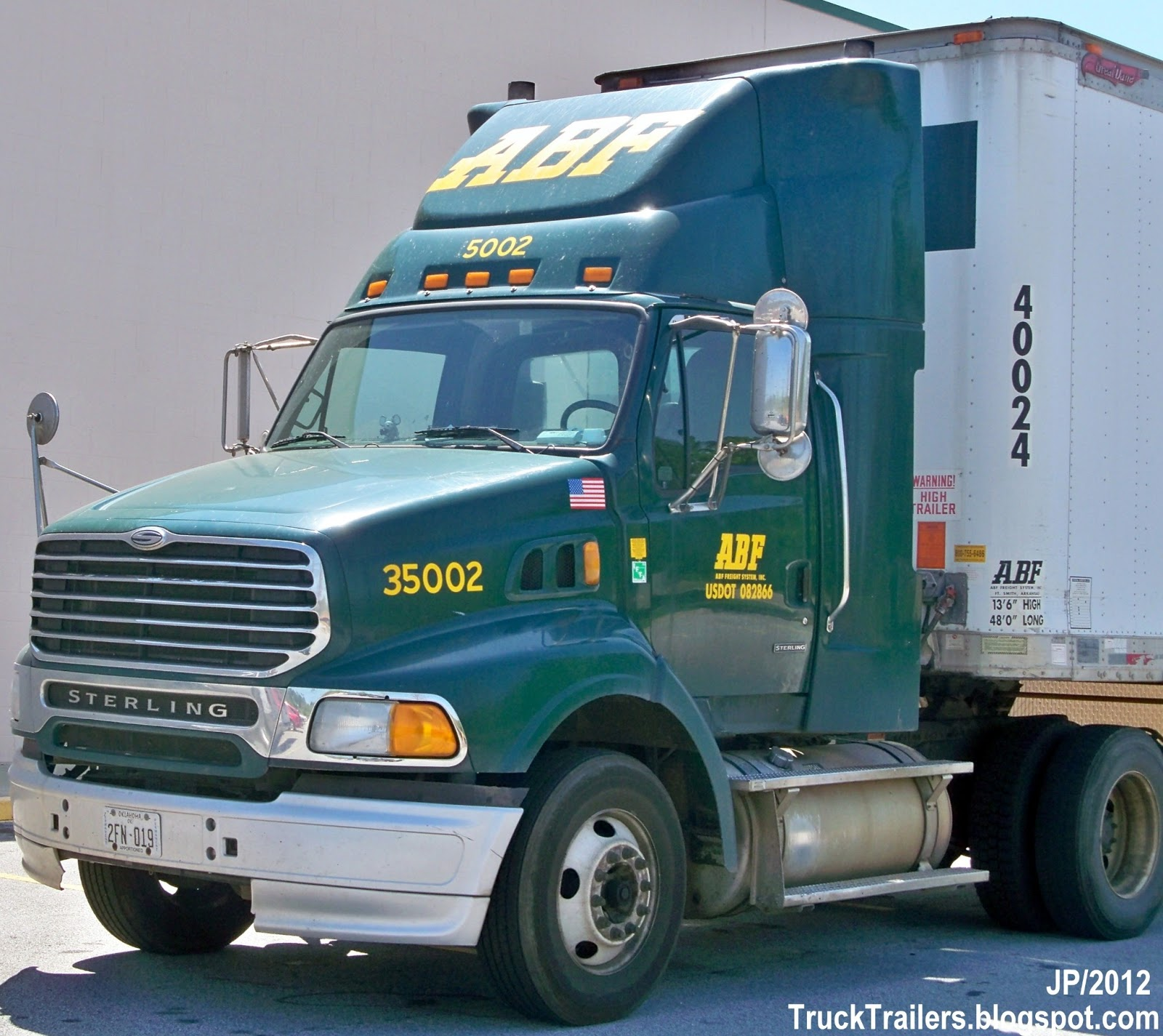 Abf Trucking Photos
