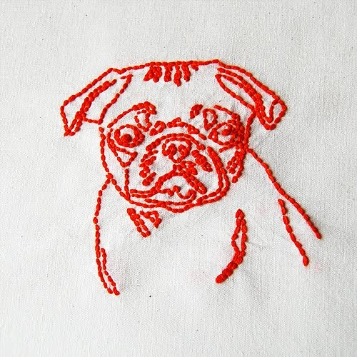 Line Art Embroidery : The craftinomicon embroidered line drawings