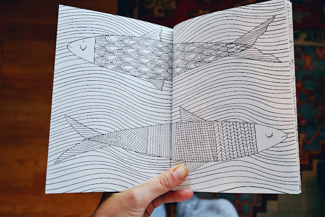 The Mindfulness Coloring Book --- this one is great for travel because
