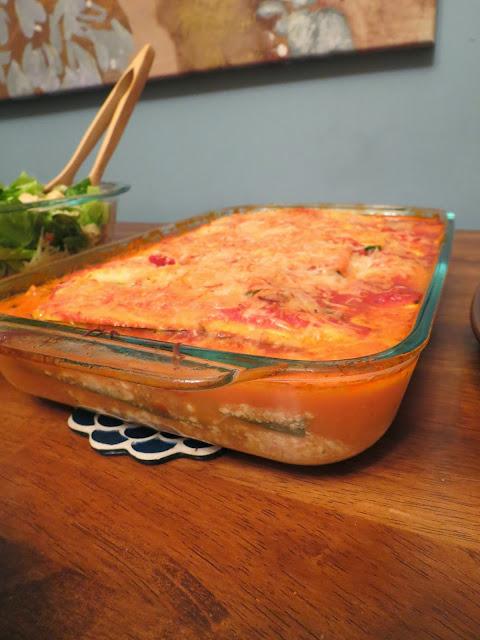 Clean Zucchini Lasagna