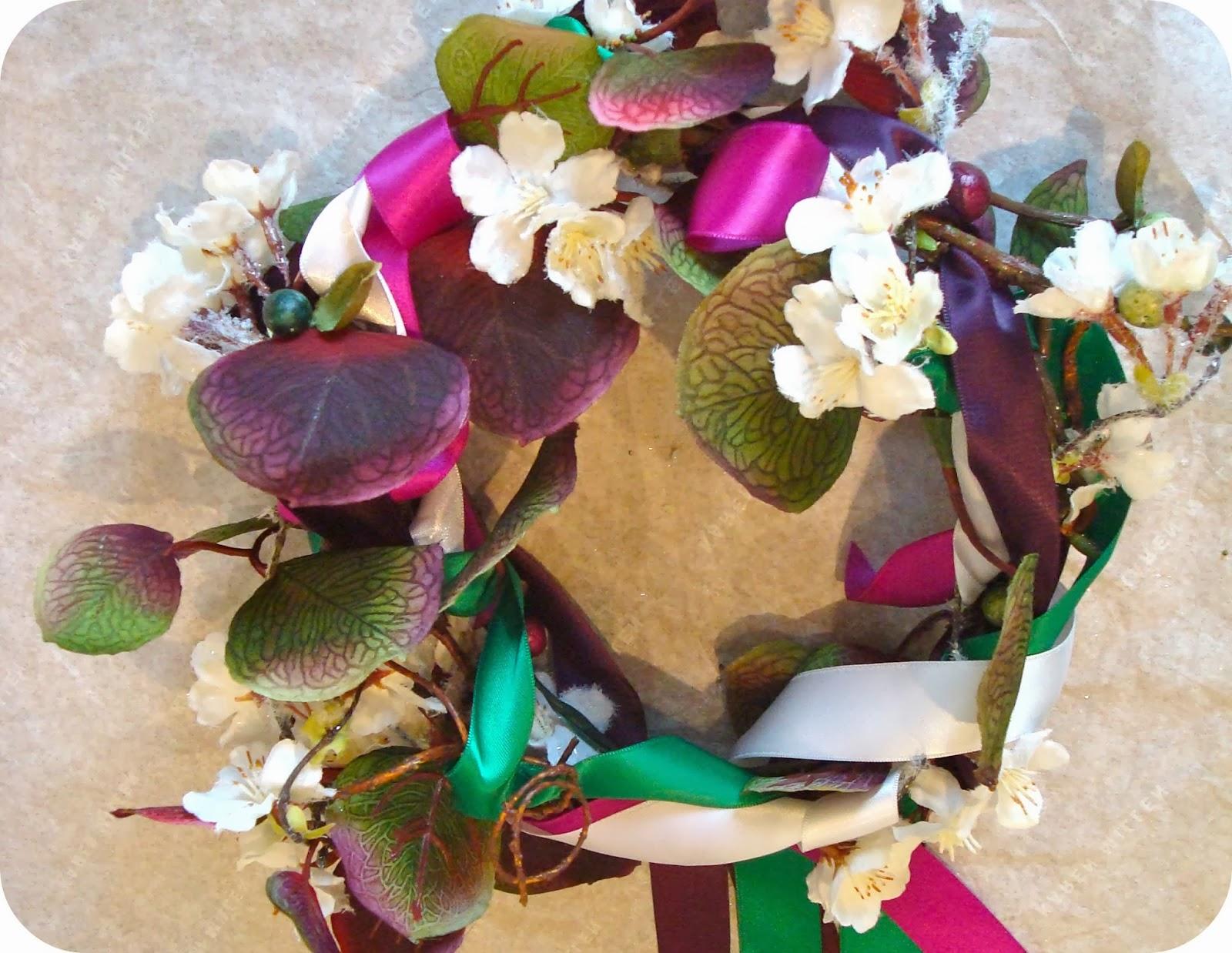 Tadaam couronne de fleurs cort ge tuto mariage - Tuto couronne de fleur ...