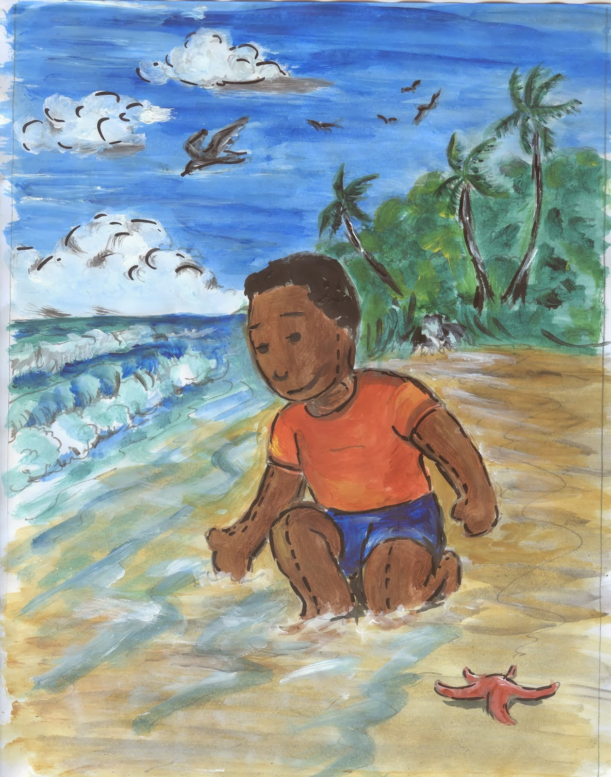 Colour childrens literature - Can A Level Art Translate Into Illustrations For Children S Books Join Me On The Journey