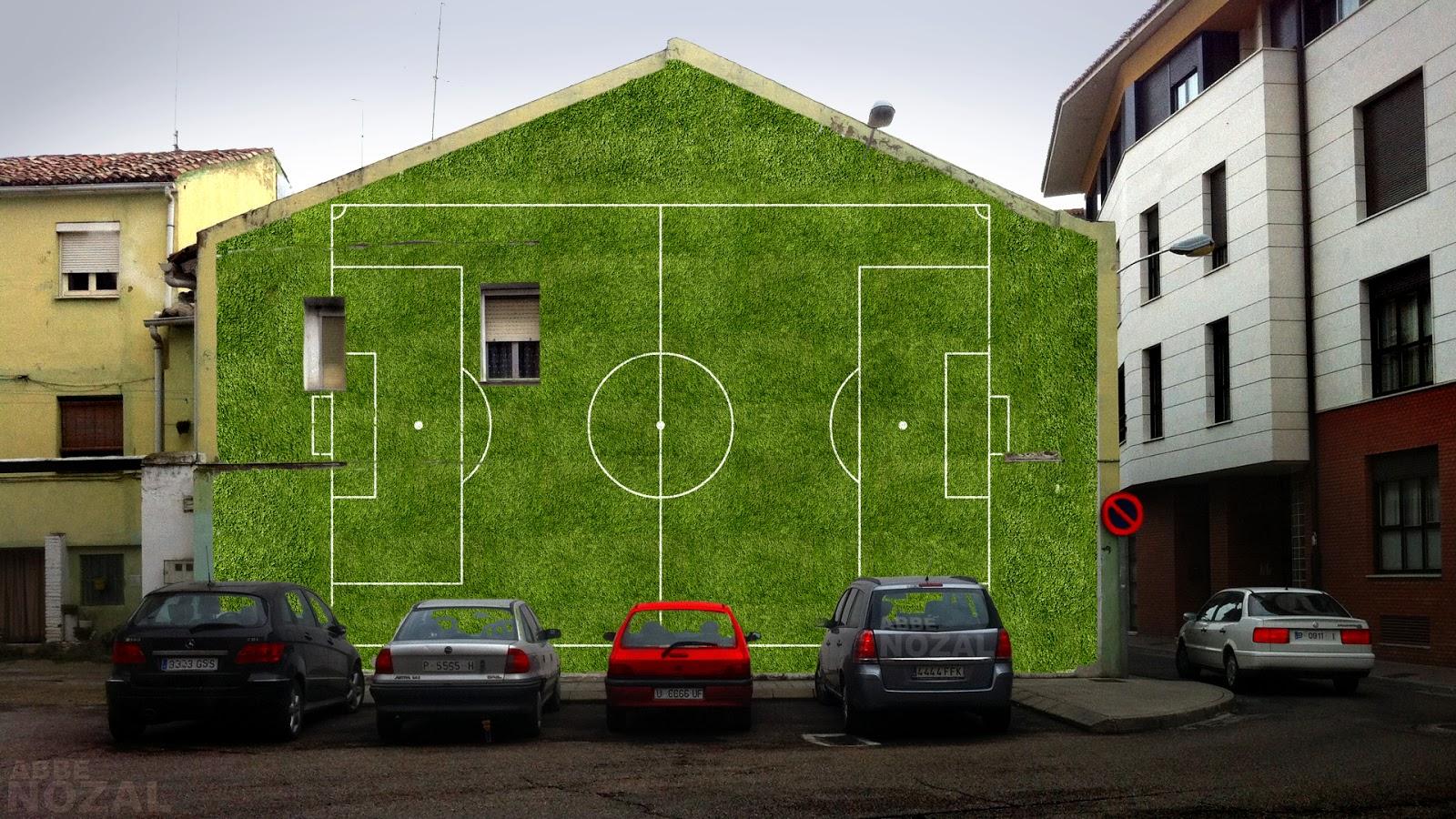 Fútbol en todas las medianeras del mundo, 2014 Abbé Nozal