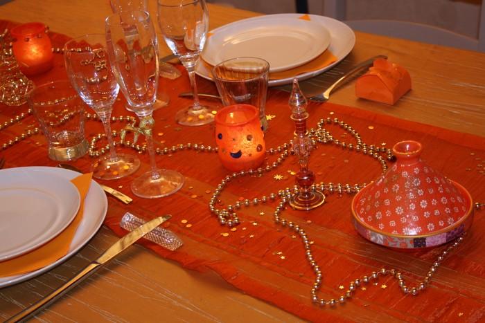 Je d core ma table table mille et une nuits for Decoration mille et une nuit