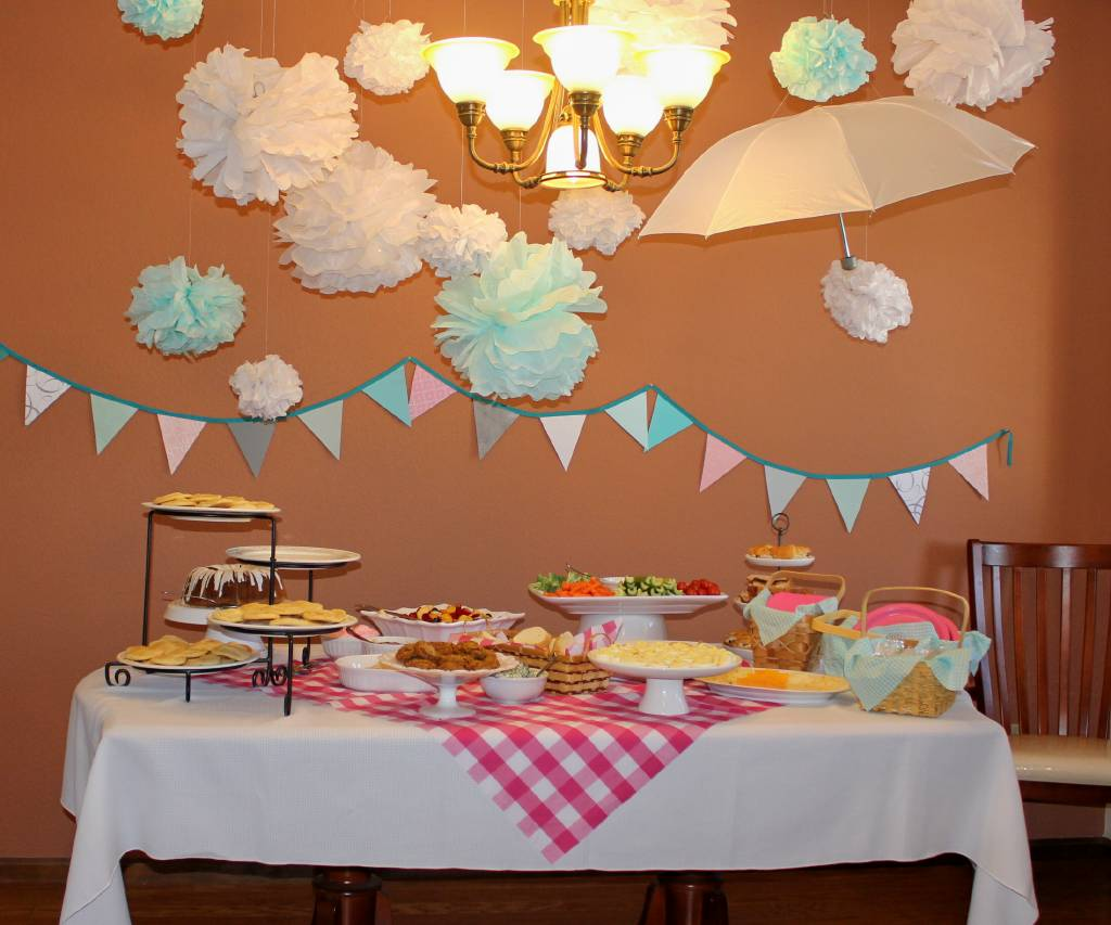 Baby Shower Decorations Umbrella Theme ~ Goodie goodies picnic themed baby shower