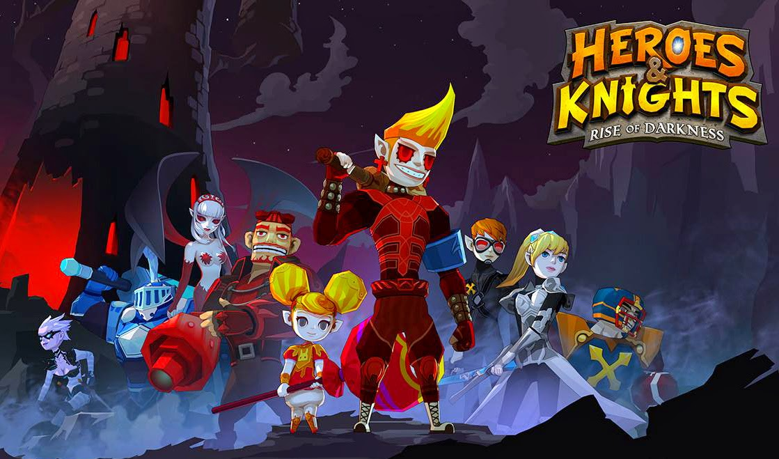 Heroes and Knights Gameplay Android