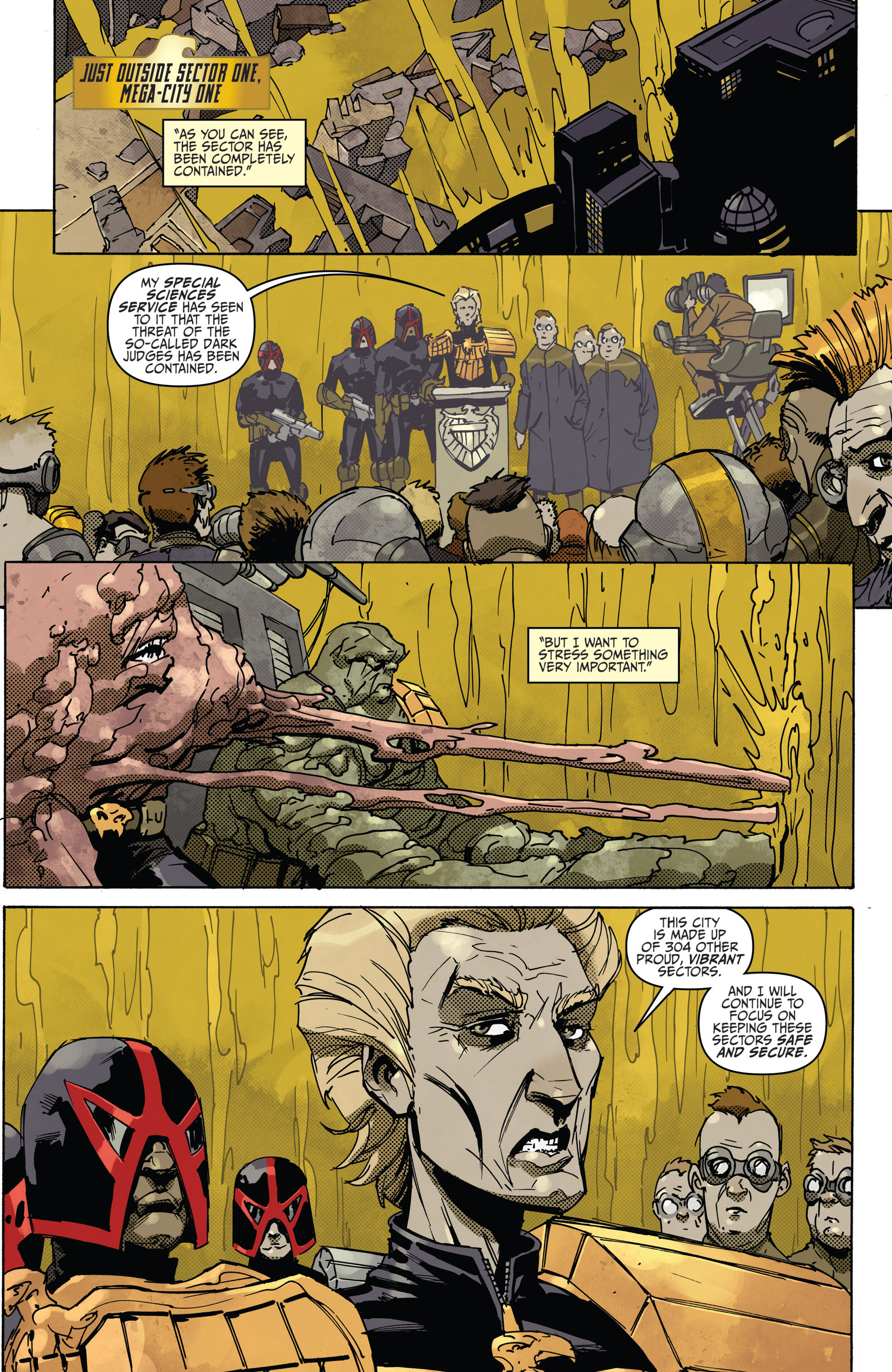 Read online Judge Dredd (2012) comic -  Issue #22 - 3