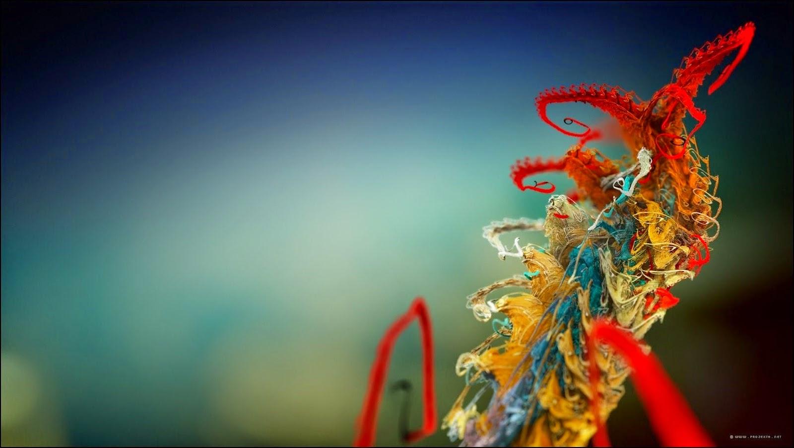 Adorno colorido para Navidad