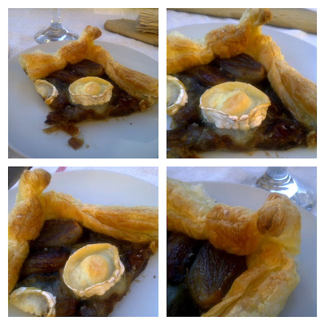 echalotes puff pastry