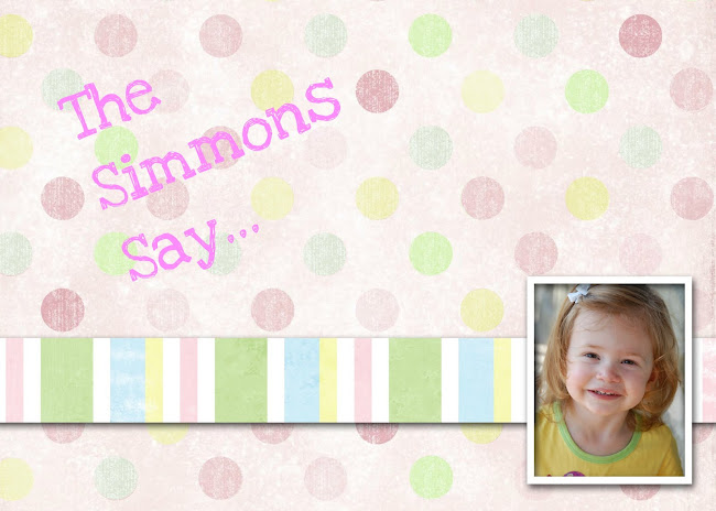 The Simmons Say...