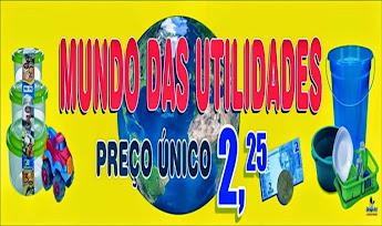 MUNDO DAS UTILIDADES, SÓ AQUI VOCÊ COMPRA QUALQUER PEÇA DE MERCADORIA POR APENAS R$ 2,25