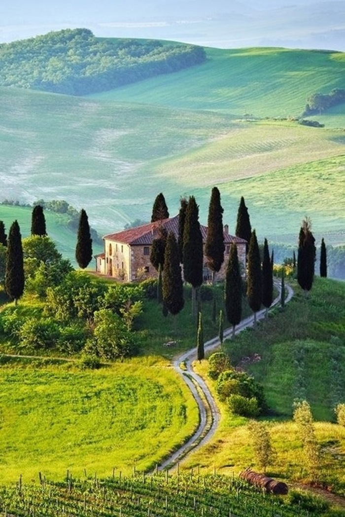 beautiful tuscany landscape italy - photo #4