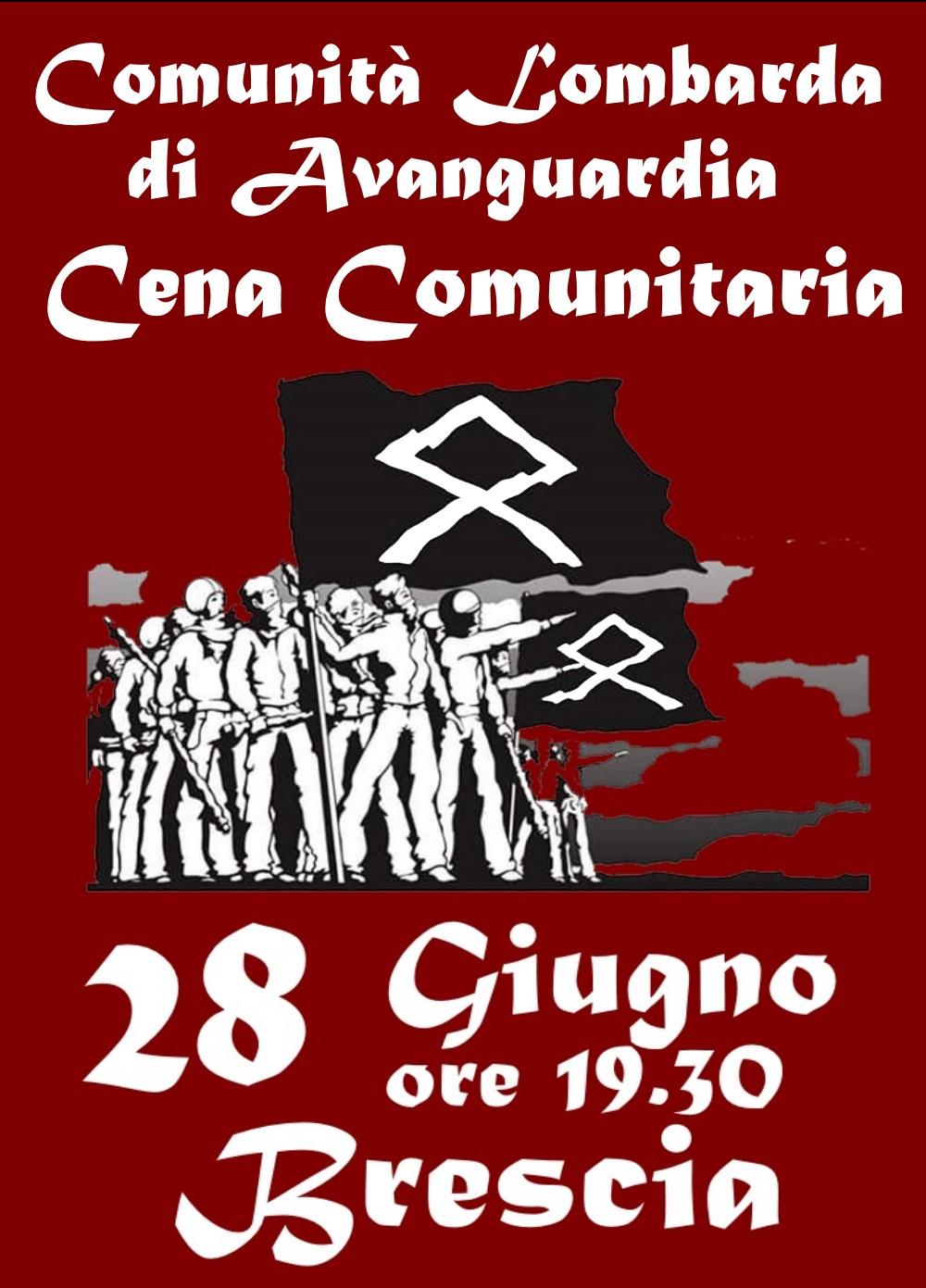 CENA COMUNITARIA - BRESCIA