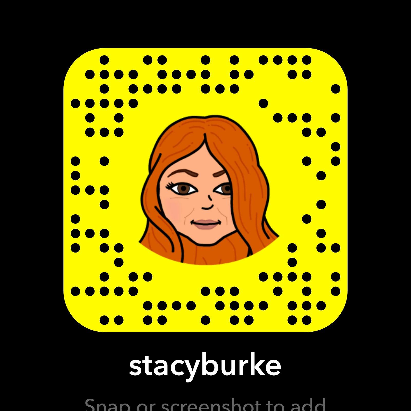 SnapChat: @StacyBurke