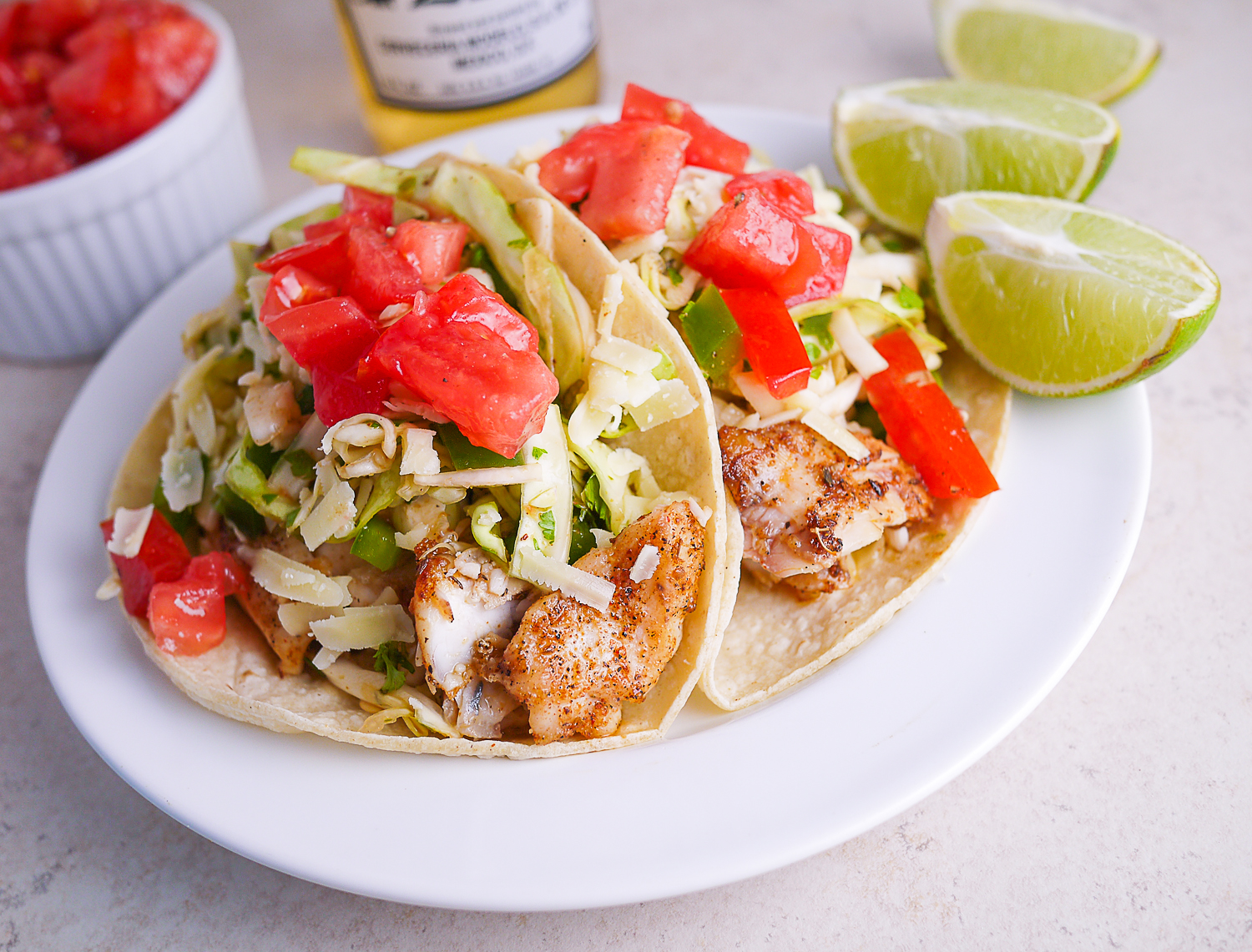Barbells and bellinis california style fish tacos with for California fish tacos