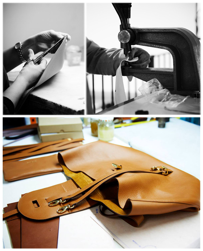 Melo Melo Thela Bag details and how it's made / exclusive interview with Melissa Del Bono, Meli Melo founder and designer for Fashioned by Love / British fashion blog