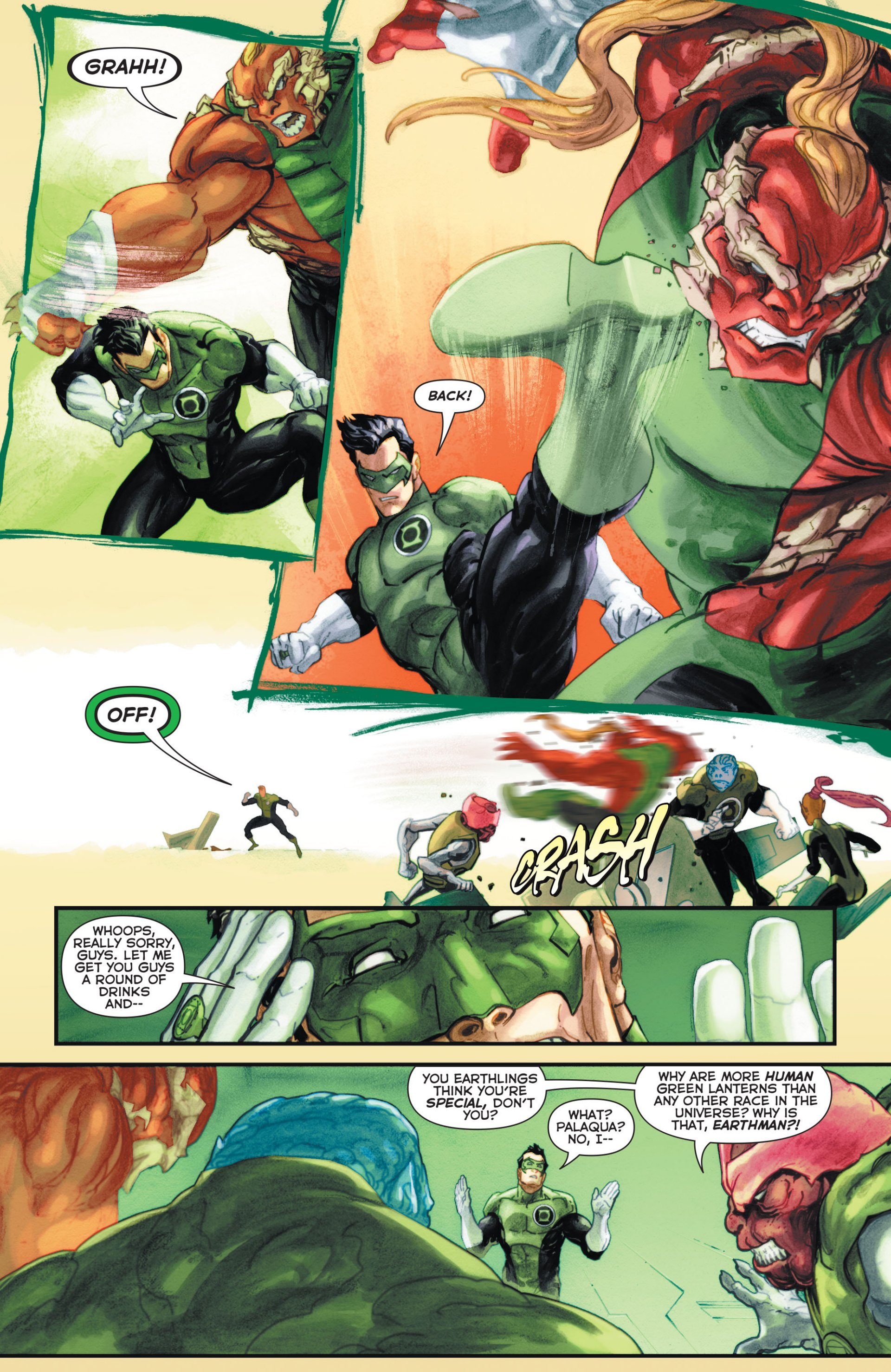 Read online Green Lantern Corps (2006) comic -  Issue #63 - 14