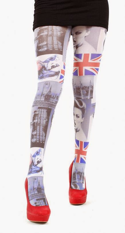 printed tights