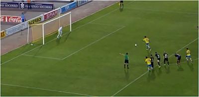 2-0 Penalti lanzado por Araujo