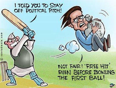 IPL 2009 Funny Cartoons (5)