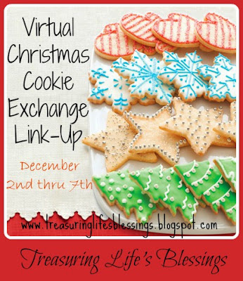 link up party, christmas cookies, recipes, desserts