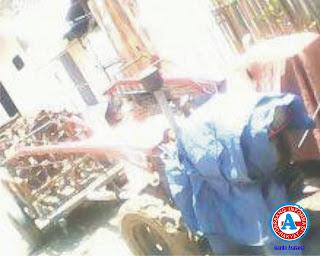 Lama Tersimpan di Kantor Polsek,  Keberadaan Dua unit  Traktor Dipertanyakan